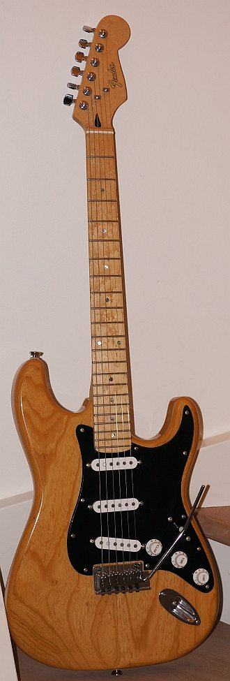 fender lite ash stratocaster. Black Bedroom Furniture Sets. Home Design Ideas