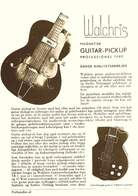 Walchris pickup flyer